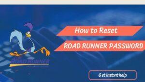 roadrunner password reset